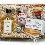 Island delicacies basket & pineapple syrup