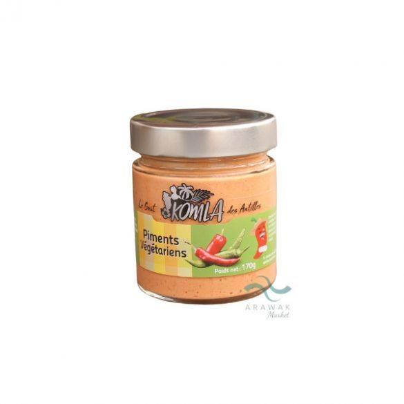 Purée de piment Végétarien 170g